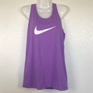 Nike Purple Racerback Tank XL
